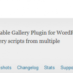 Wordpress Gallery Objects 0.4 SQL Injection