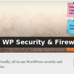 Wordpress All In One WP Security & Firewall 3.9.0 SQL Injection Vulnerability