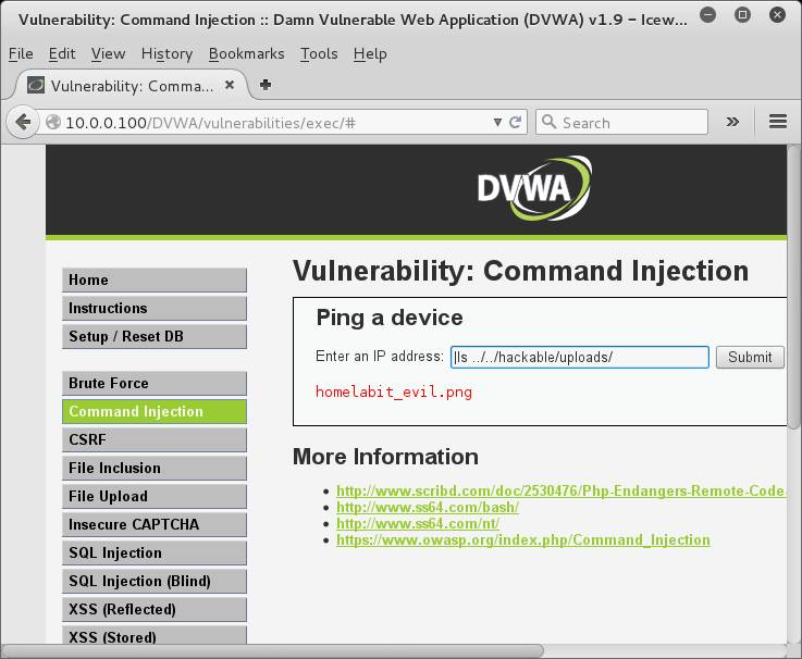 DVWA File Upload
